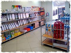 Магазин Хобби-Парк (г. Санкт–Петербург, м.Сенная площадь). В этом магазине продается продукция Paperlove.