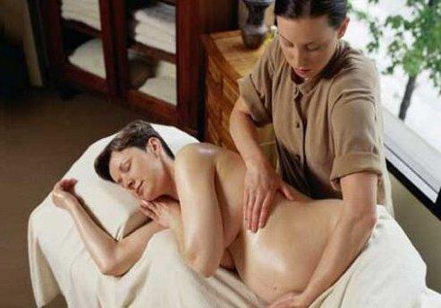 Массаж для беременных и молодых мамочек