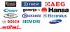 Таблицы запчастей для бытовой техники по брендам