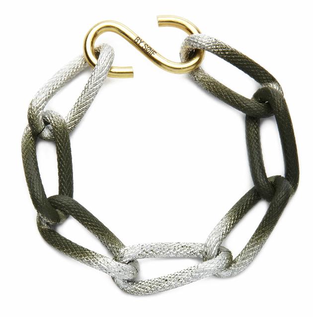 Купите массивный браслет милитари из металла от by soif