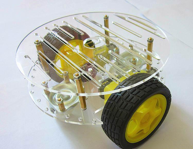 Набор RA037. Круглое колёсное шасси