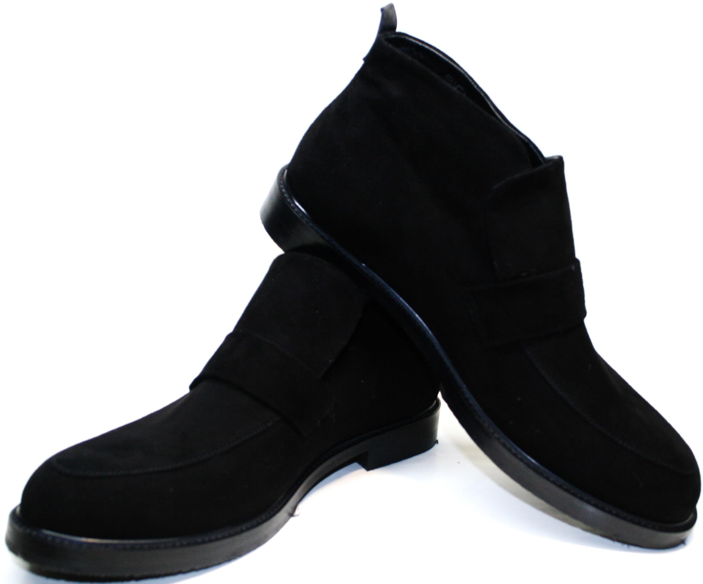 Замшевые ботинки мужские зимние Richesse