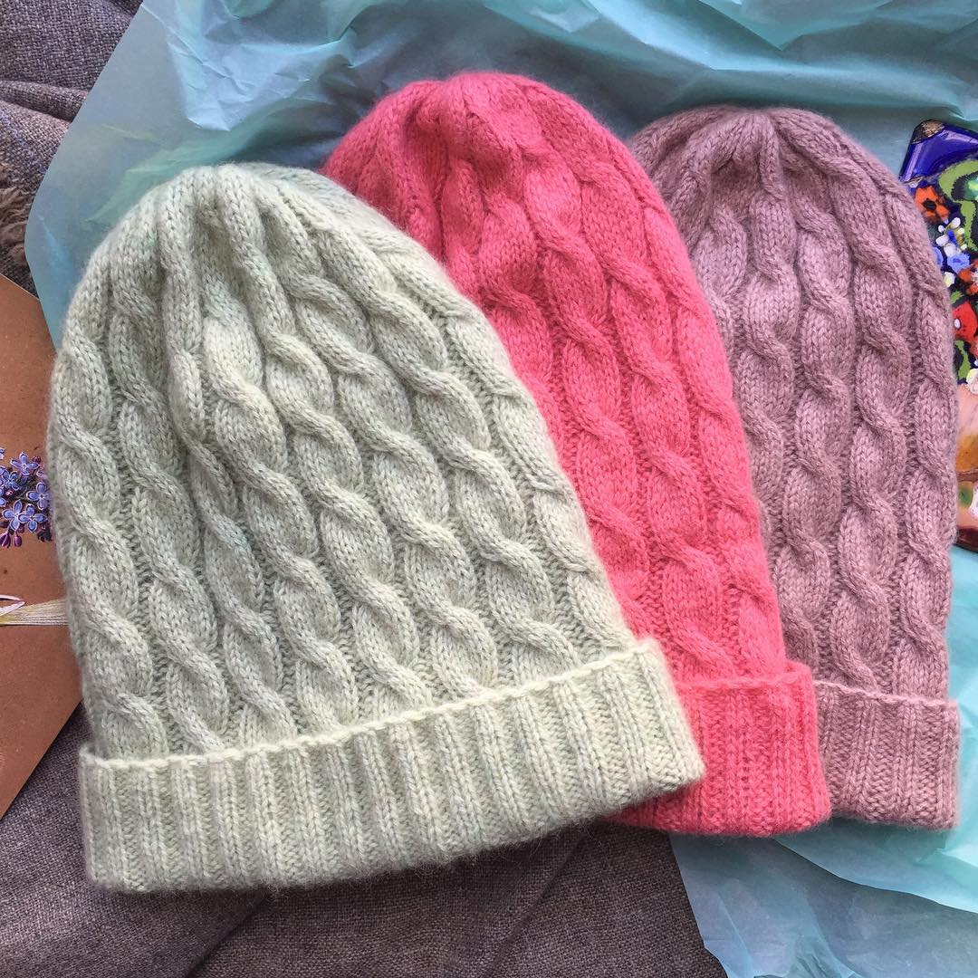 шапки из монгольского кашемира