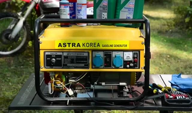 Генератор из Кореи обслуживание