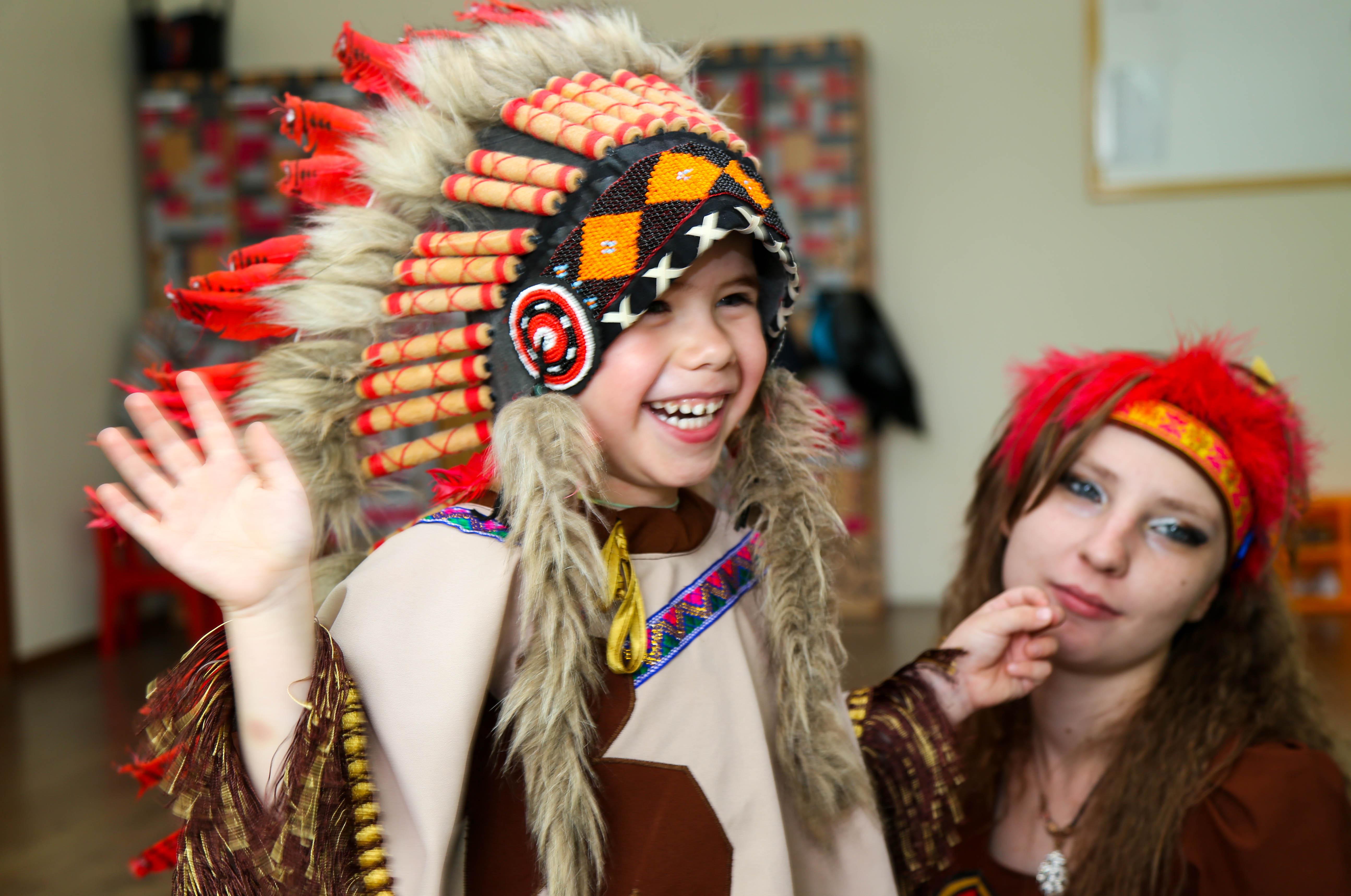 вечеринка индейцы картинки помещения