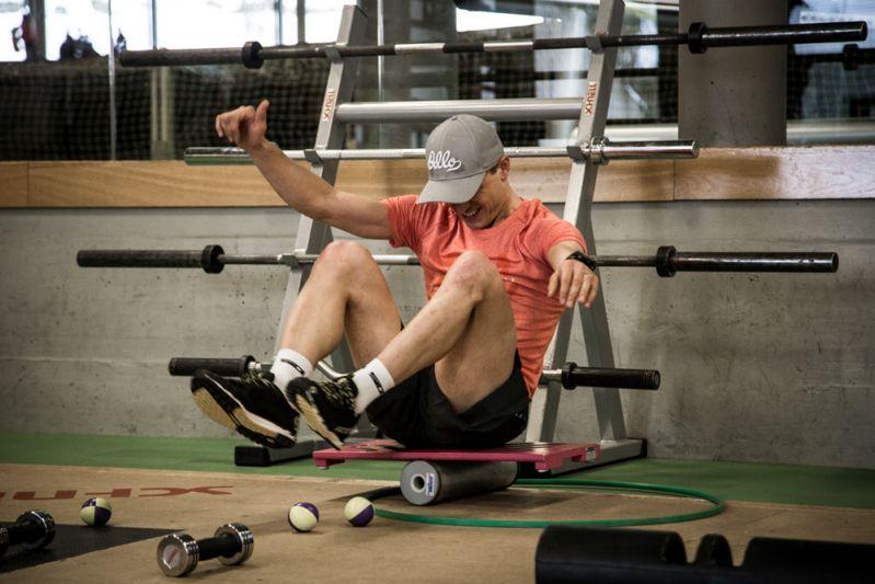 Тренировка баланса