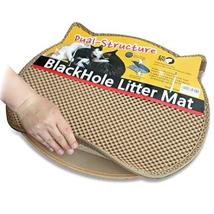 Коврик Blackhole Litter Mat беж голова