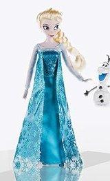 Кукла Эльза и снеговик Олаф