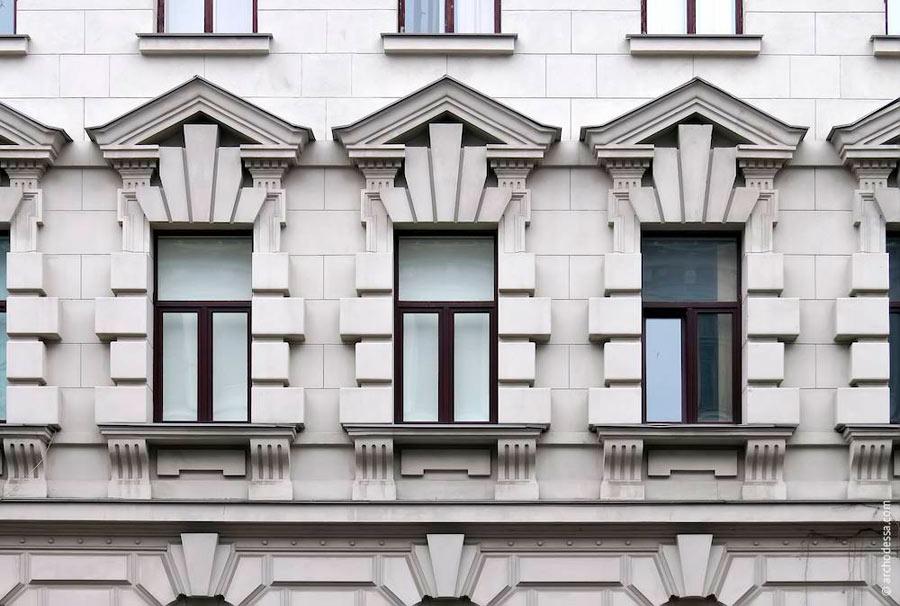 Руст на окно