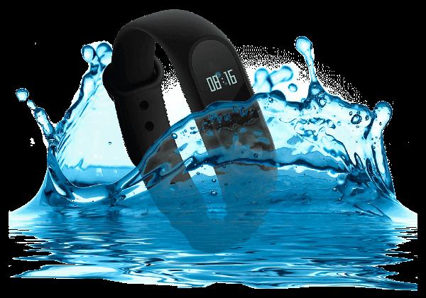 Mi Band 2 — водонепроницаемые часы Xiaomi