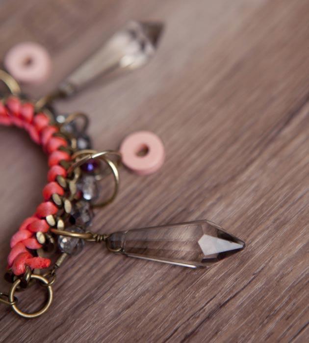 стильная бижутерия Crystall bracelet  от MAVA HAZE