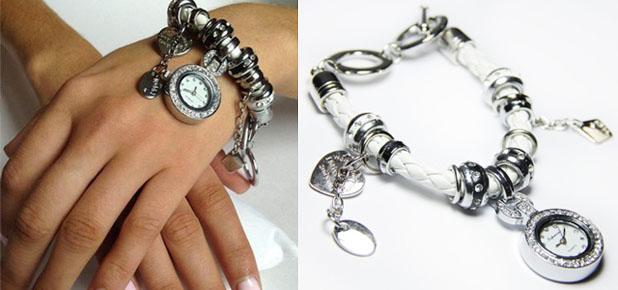 Стильный браслет-часы