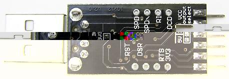 Модуль RC012. Переходник USB <=> COM-порт TTL/CMOS (RS232) (CP2102-v2.0)