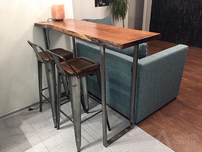 частный заказ мебель в квартиру-студию