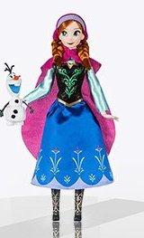 Кукла Анна и снеговичок Олаф