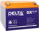 Гелевые аккумуляторы Delta GX 12-24