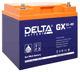 Гелевые аккумуляторы Delta GX 12-40