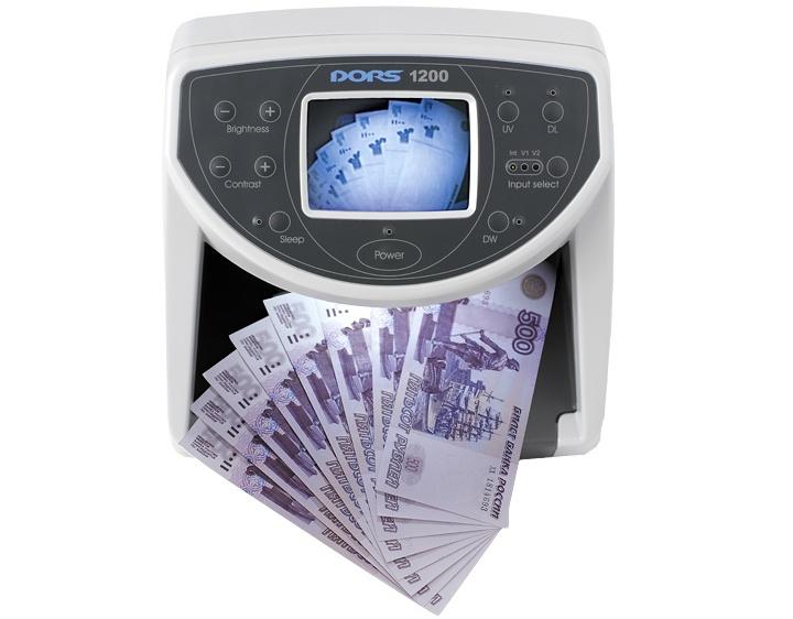 Инфракрасные детекторы валют обычно имеют собственный экран