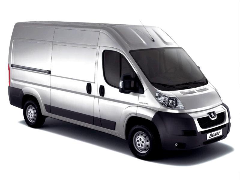 Установлена передняя пневмоподвеска на Peugeot Boxer NEW
