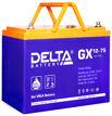 Гелевые аккумуляторы Delta GX 12-75