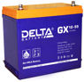 Гелевые аккумуляторы Delta GX 12-55