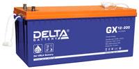 Гелевые аккумуляторы Delta GX 12-200