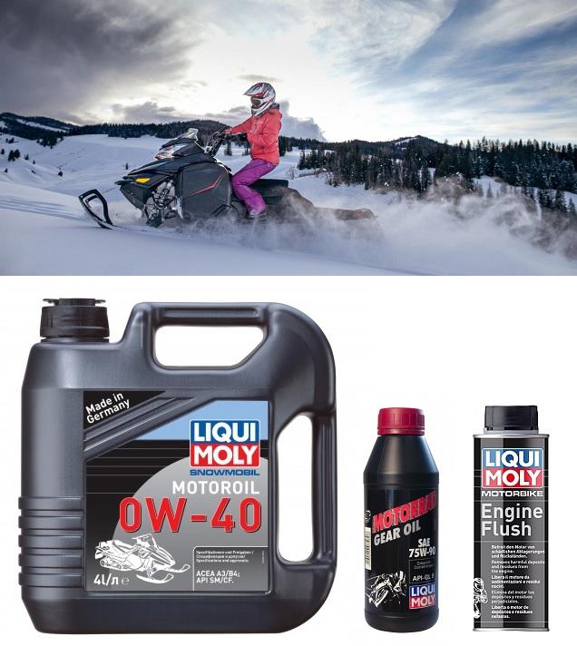 Замена моторного масла в снегоходе