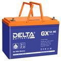 Гелевые аккумуляторы Delta GX 12-90