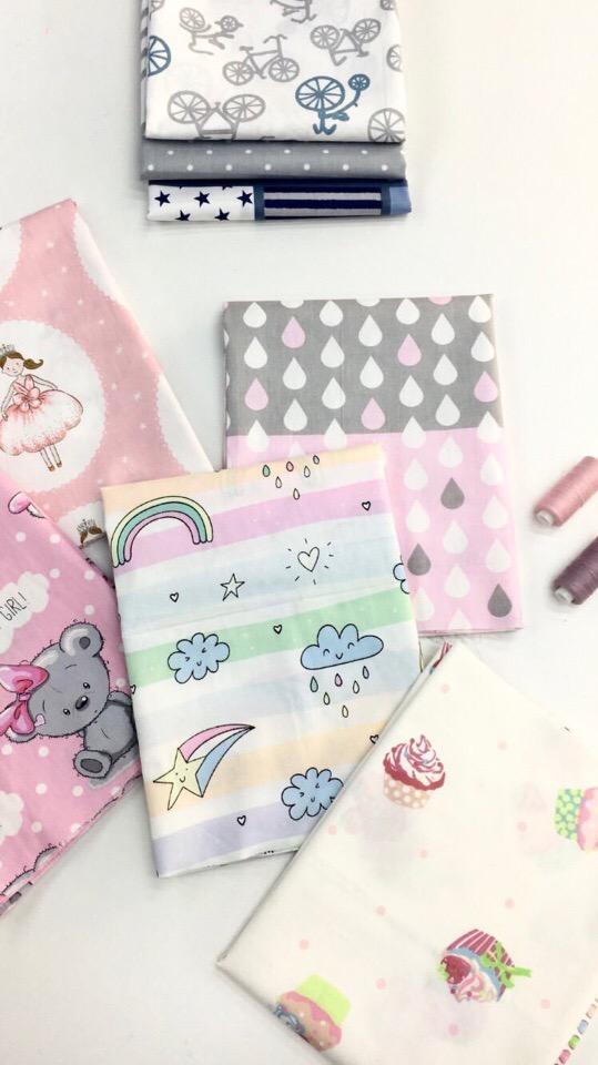 Ткани для оформления детской комнаты