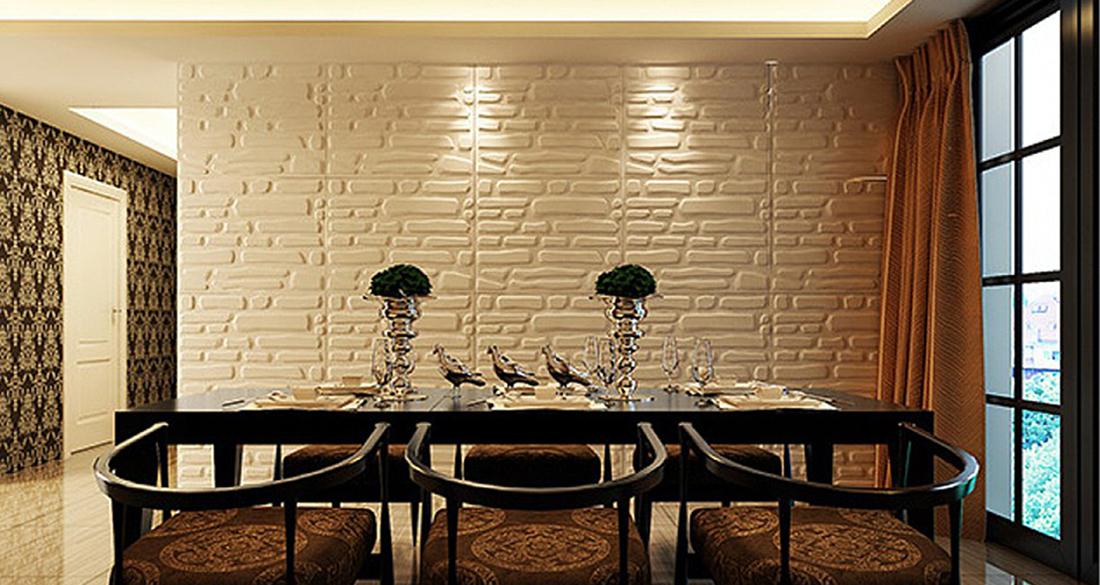 Стеновые панели из натуральных материалов