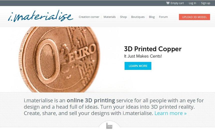 imaterialise сервис 3d-печати