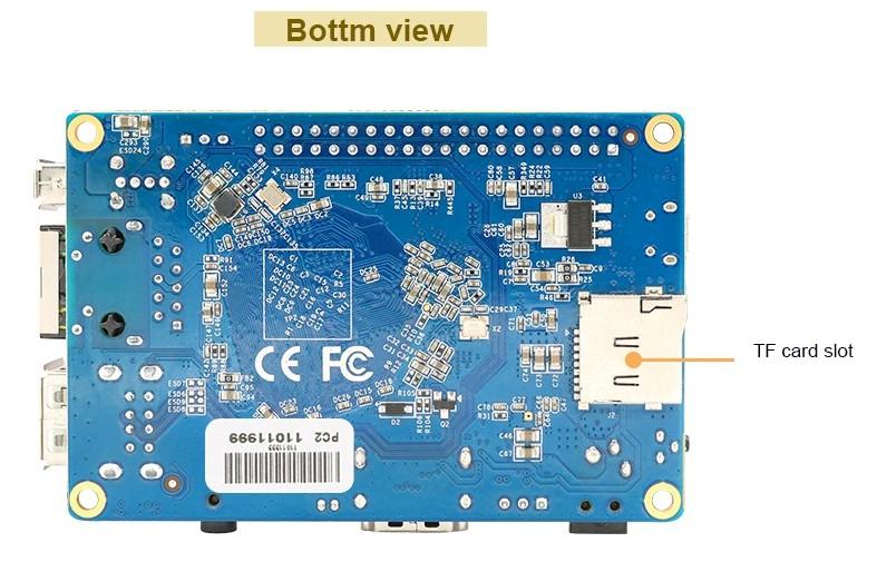 Orange Pi PC 2 подключение