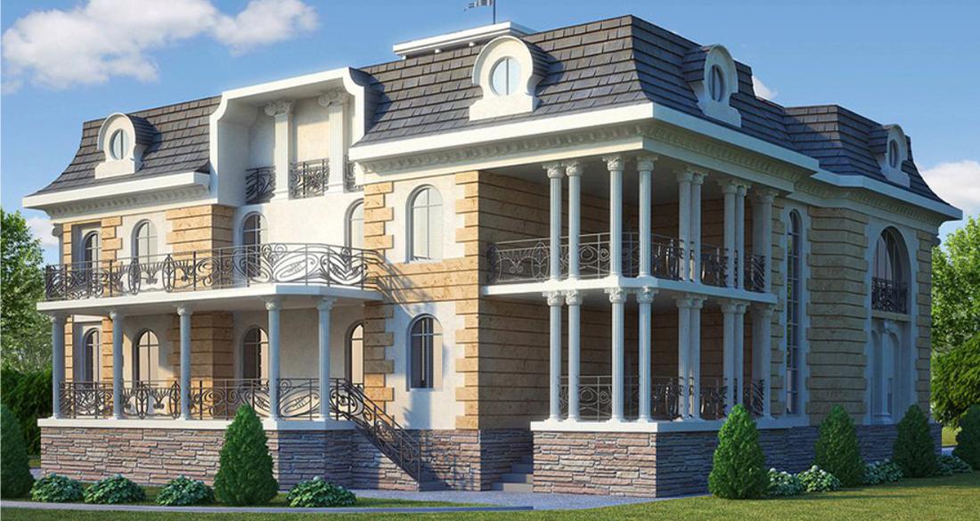 Архитектурные элементы для фасадов