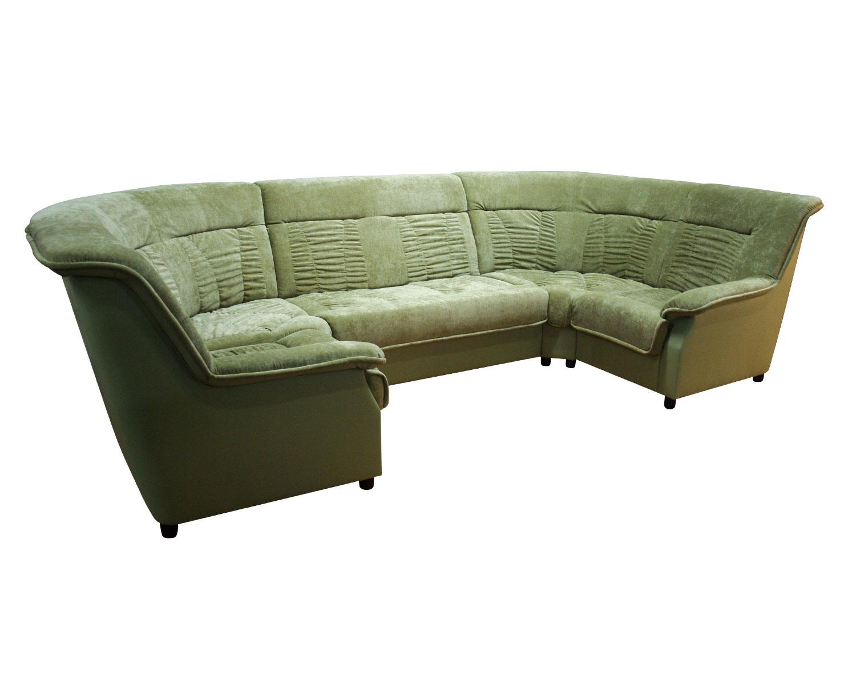 Сиеста П-образный угловой диван