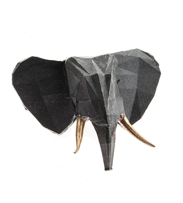 массивное кольцо с головой слона ELEPHANT от Thomas.V