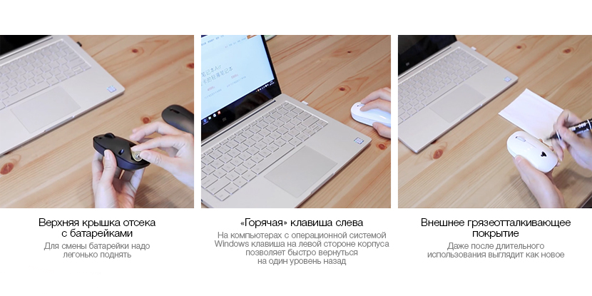 Мышь Xiaomi Mi Wireless Mouse USB