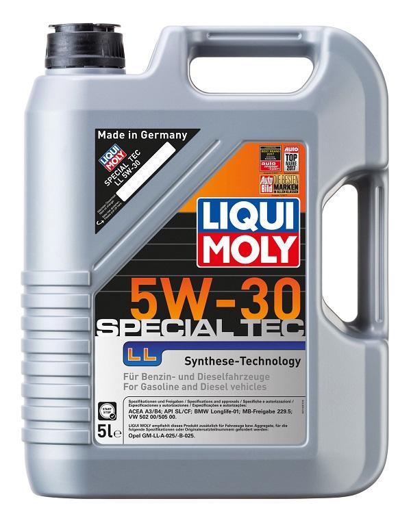 Liqui Moly Special Tec LL 5W30 НС синтетическое моторное масло