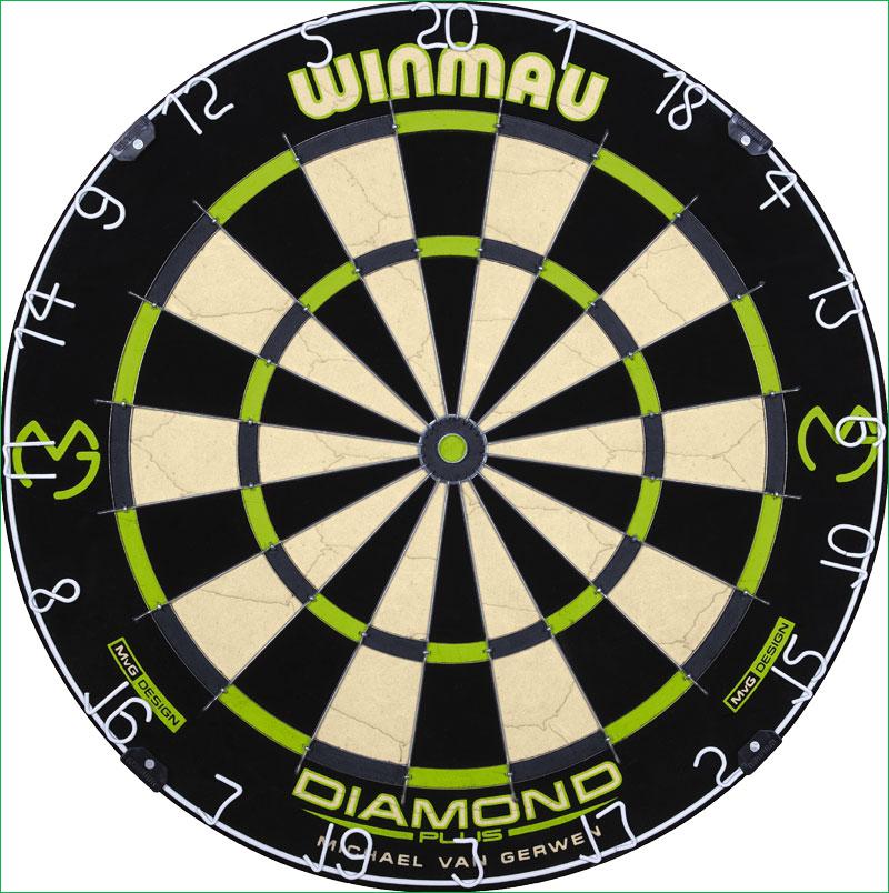 Winmau Diamond Plus MvG