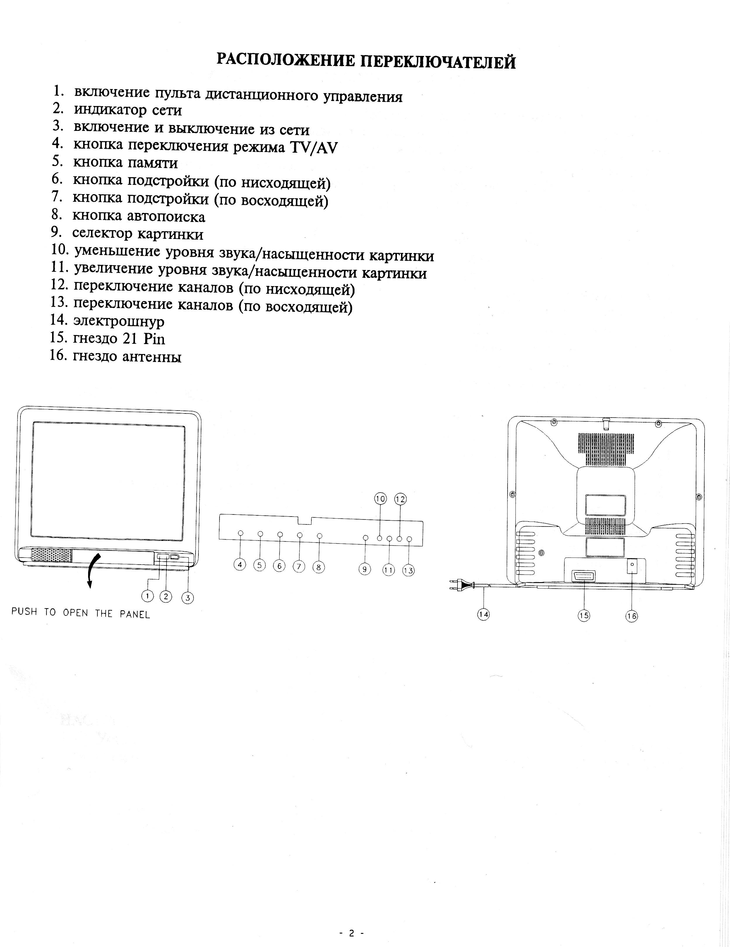 Akai ct g215d схема фото 976