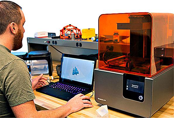 Где купить фотополимерный SLA DLP 3д принтер?