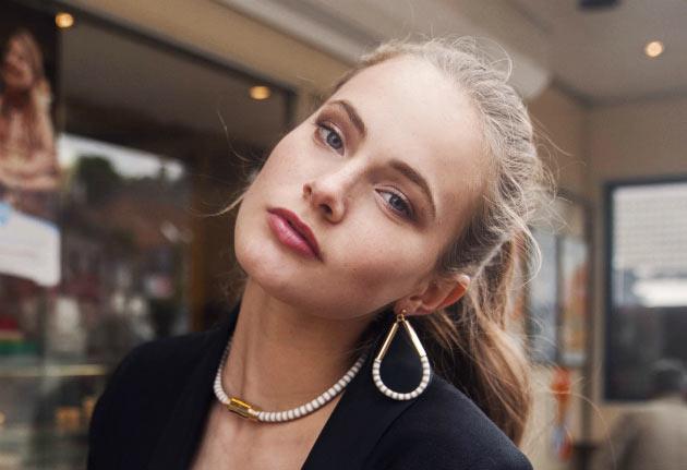 купите серьги из кожи от Chic Alors-Paris