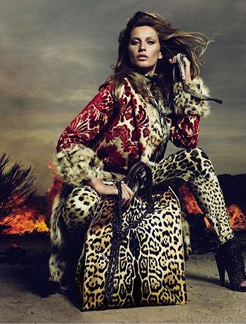 Леопардовый чемодан