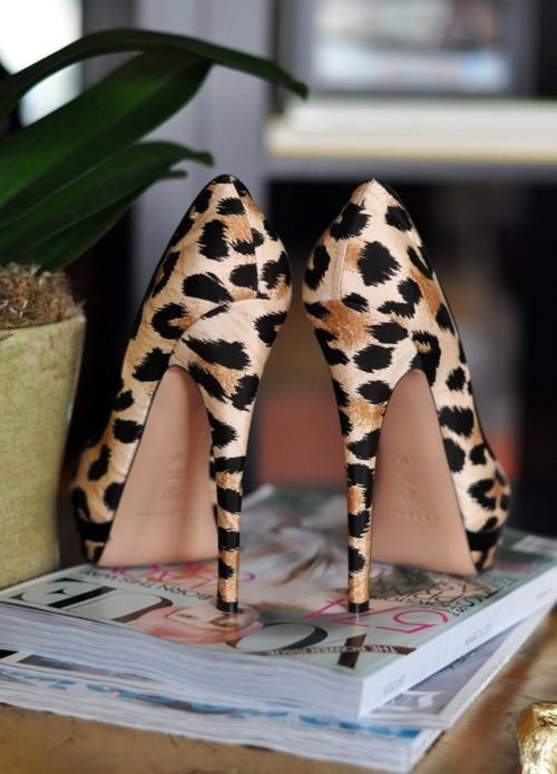 Леопард туфли