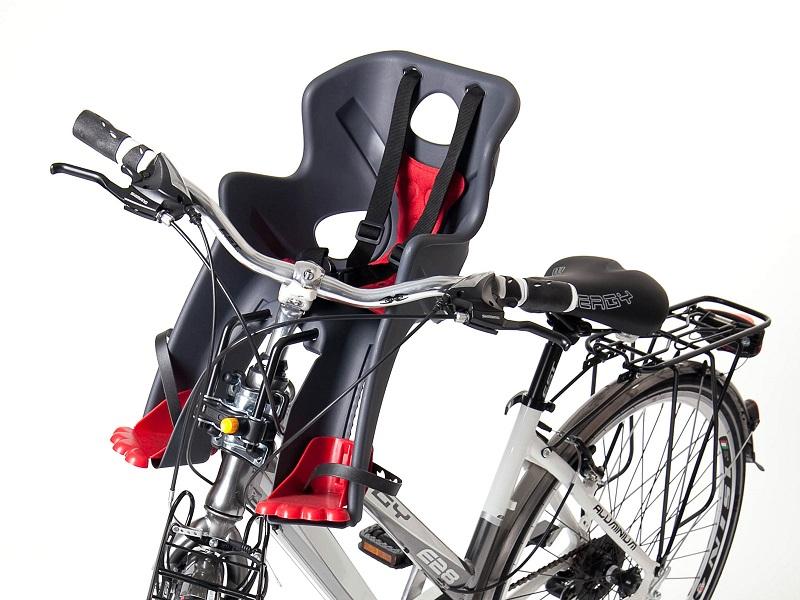 Крепление велокресла на вынос руля