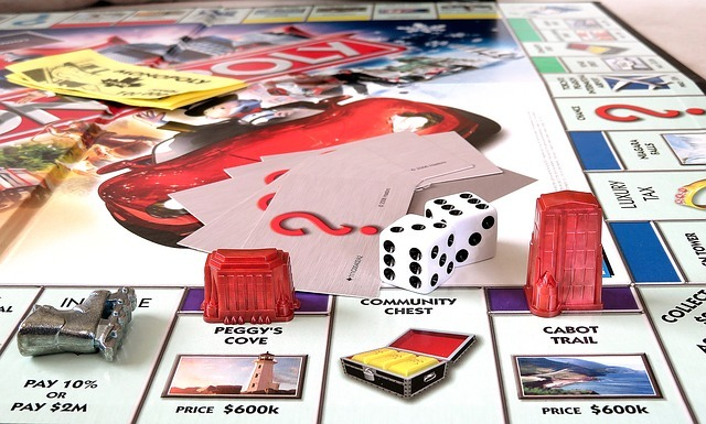 Настольная игра монополия картинка