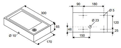 Размеры Siemens LTE24B