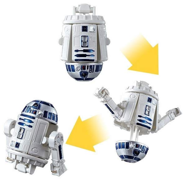 Яйцо - трансформер Star Wars R2-D2