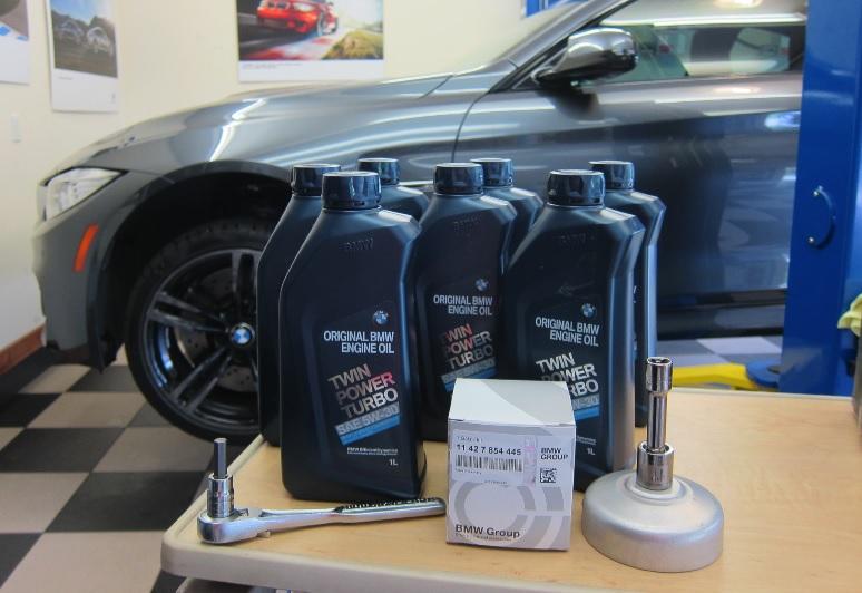 Комплект для замены моторного масла