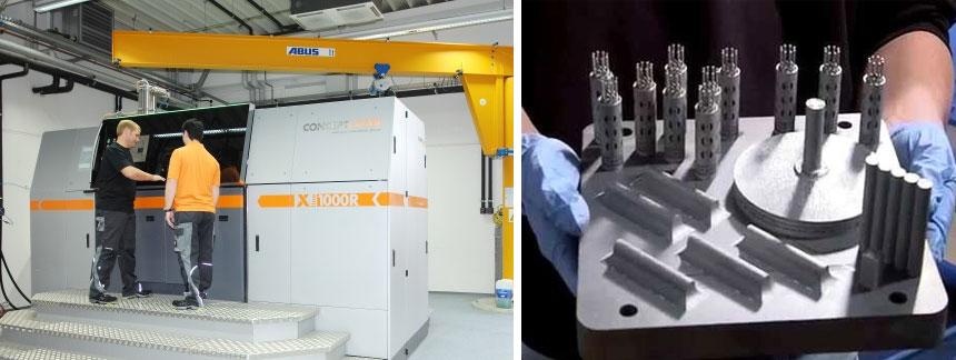 Concept Laser XLine 1000 — 3D–печать металлическим порошком