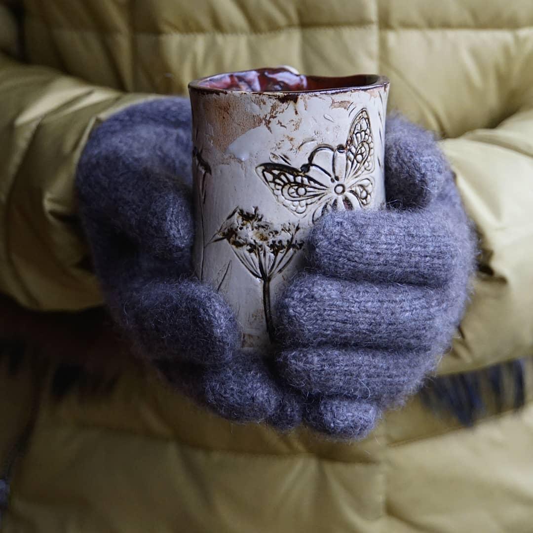Перчатки из пуха яка SARLAG